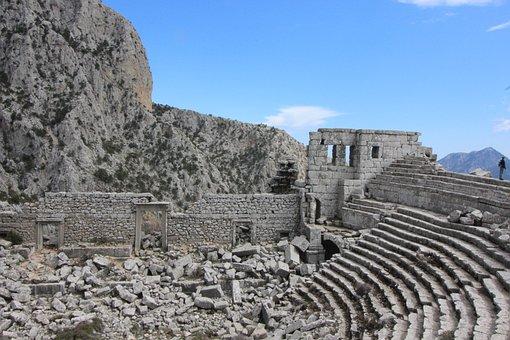 Termessos, Antalya, Turkey, Amphitheatre