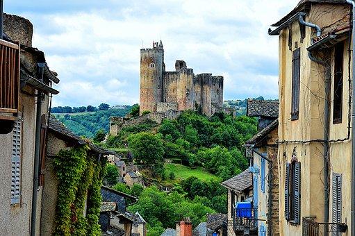 Castle, Aveyron, Castle Of Najac, Middle Age