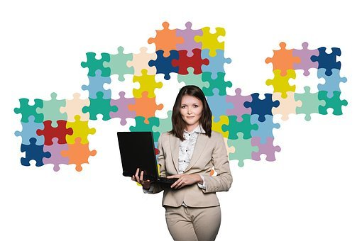 Businesswoman, Business, Puzzle, Organization, Coach