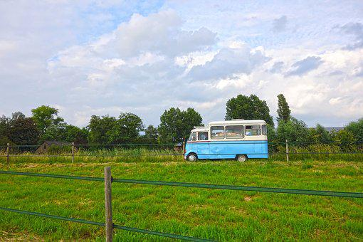 Vehicle, Van, Compact Van, Transport, Automobile