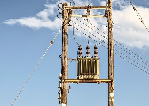 Pole, Electricity, Transformer, Power, Energy, Cable