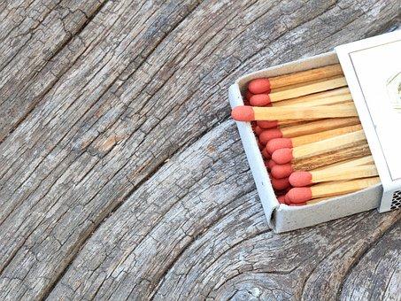 Match, Wood, Fire, Stick, Matchstick, Ignite, Wooden