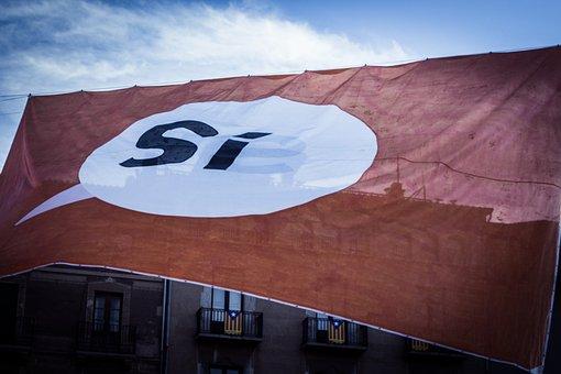 Flag, If, Red, White
