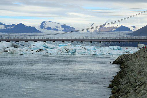 Glacier Lagoon, Iceland, Glacier, Lagoon, Iceberg