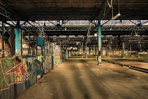 Lost Places, Pforphoto, Old Factory, Abandoned, Decay
