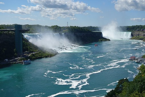 Niagara, Waterfall, Niagara Waterfall, Niagara Falls