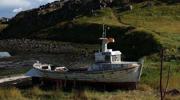 Abandoned Boat, Old Boat, Old Ship