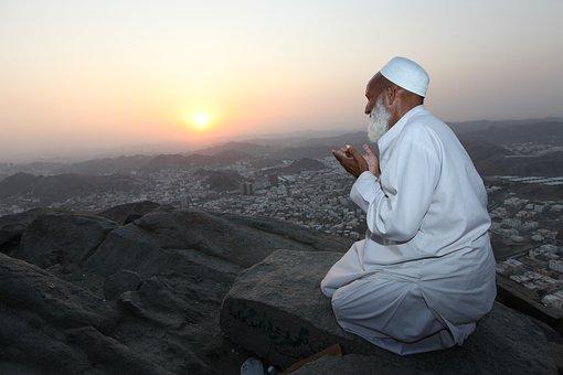 Prayer, Nur Gibraltar, Mount Nur, Mecca