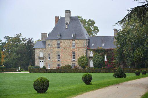 House, Beautiful House, Brittany, The Elms, Pretty