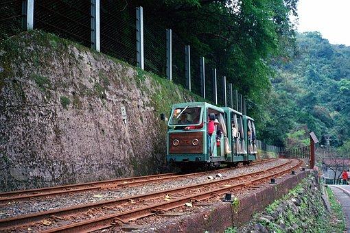 Taiwan, Train, Railway, Taipei, Railroad, Rail, Scene
