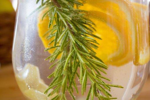 Lemonade, Rozmarína, Oranges, Dewy, Lemon
