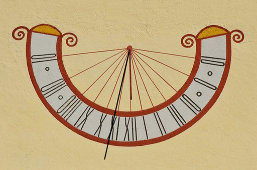 Sundial, Clock, Time Indicating, Time, Pointer, Time Of