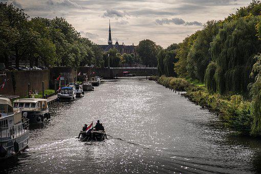 Netherlands, Channel, Holland, Water, Canals, Autumn