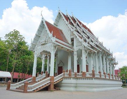Church, Wat Khai Bang Rachan, Sing Buri