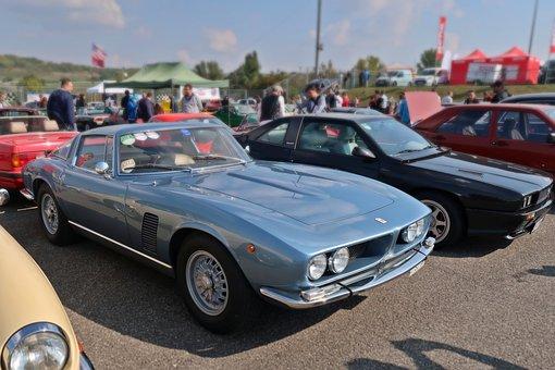 Classic Car, Oldtimer, Blue, Retro Car, Roadster