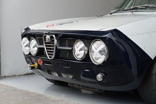 Alfa Romeo, Old Car, Grill, Oldtimer, Classic Car