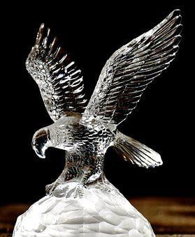 Adler, Crystal, Glass, Noble, Beautiful, Crystal Glass