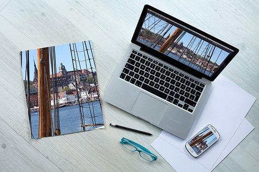 Communication, Mockup, Design, Device, Own Layout
