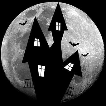 The Haunted House, Halloween, Horror, Decoration