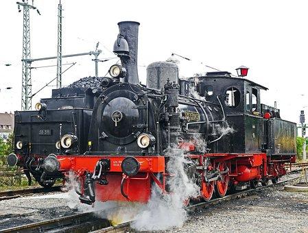 Steam Locomotive, Depot, Investigation Pit, Water Take