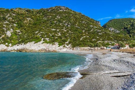 Greece, Skopelos, Glysteri, Pebble Beach, Island, Greek