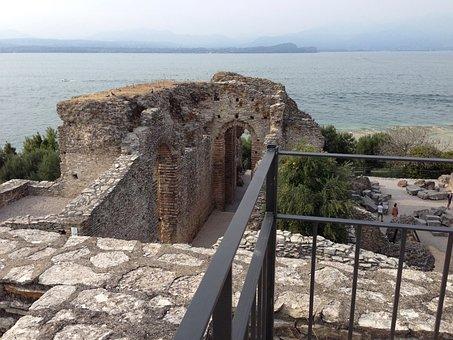 Grotto Of Catullus, Remains, Roman City, Lake Garda