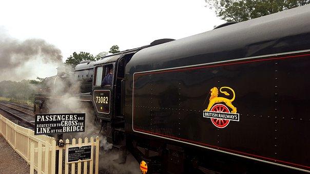 Steam, Train, Locomotive, Engine, Railway, Vintage, Old