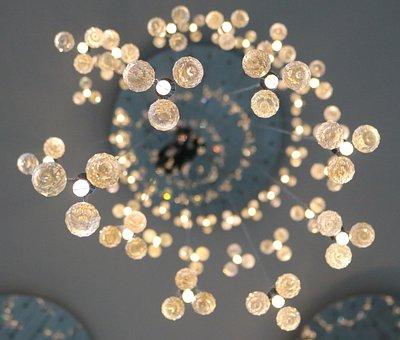 Chandelier, Light, Style, Modern, Crystal, Ceiling