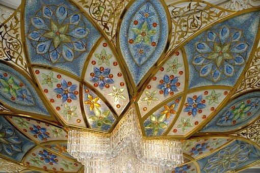 Uae, Abu Dhabi, Mosque, Islam, Large Mosque