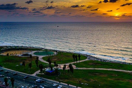 Sunset, Coast, Sea, Travel, Ocean, Sky, Horizon