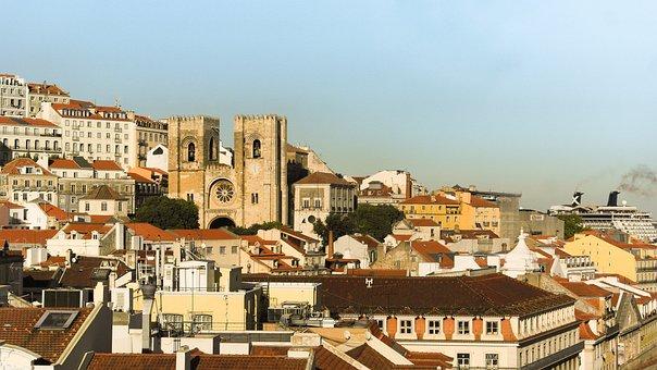 Sé Of Lisbon, Belvedere, Lisbon, Portugal