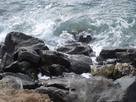 Sea, Coast, Stones, Rock, By The Sea, Rocky Coast