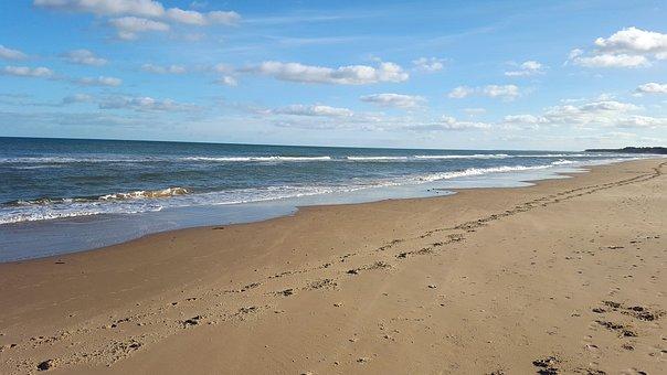 Beach, Shore, Shoreline, Coastal, Coast, Sea, Ocean