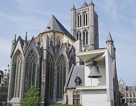 Gent, Sint Niklaaskerk, Single Bell, Separately