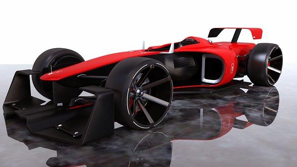 Racing Car, Formula 1, F1, Motorsport, Racing, Speed