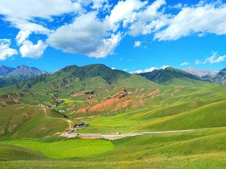 Summer Vacation, Qinghai, Drow Mountain