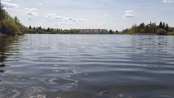 Water, Lake, Ripple, Summer, Nature, Blue, Sky, Natural
