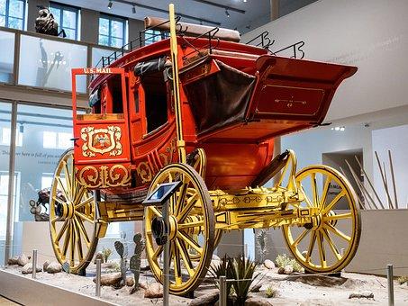 Wells Fargo, Stagecoach, Western, West, Horse-drawn