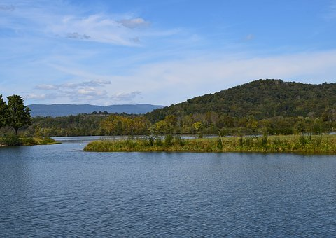 Melton Lake On Sunny Afternoon, Clinch River, Tennessee