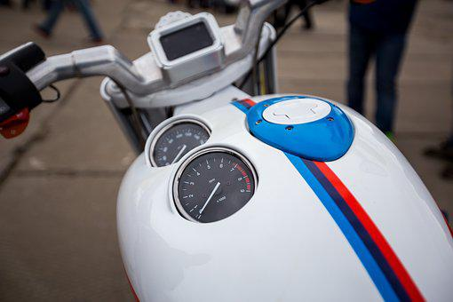 Motorcycle, Tank, Dashboard, Speed, Speedometer