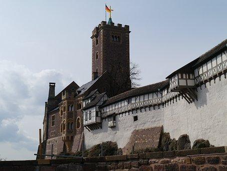 Wartburg Castle, Luther, Eisenach, Thuringia Germany