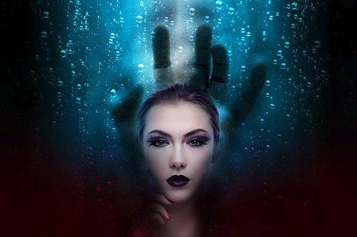 Fear, Nightmare, Dreaming, Woman, Horror, Fantasy