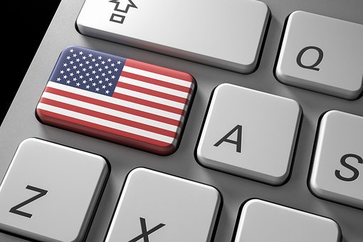 Technology, Flag, Internet, Keyboard, Computer, Country