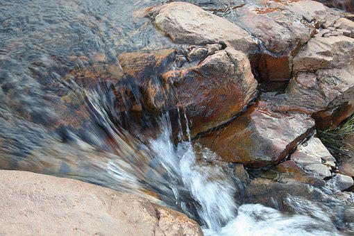 River, Rocks, Motion, Creek, Flowing, Nature, Water