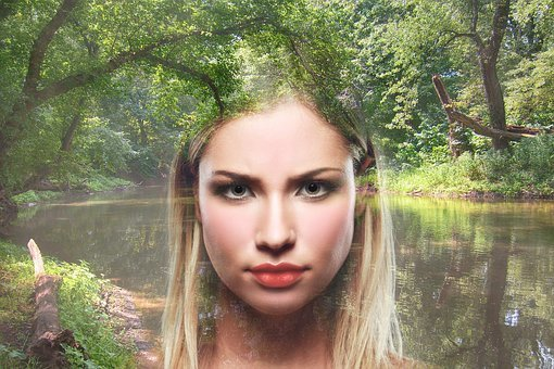Fantasy, Woman, Nature, Magic, Magical, Forest, Lake