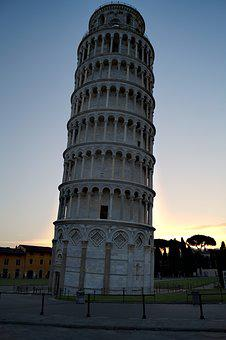 Pisa, Italy, Tower, Leaning Tower, Tuscany