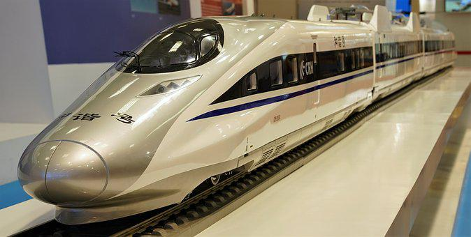 Chinese, High Speed, Train, Model, Technology