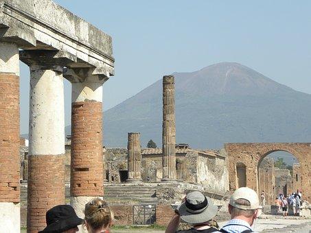 Pompeii, Vesuvius, Italy, Roman, Archaeology, Naples