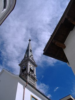 Saint Moritz, Switzerland, Church
