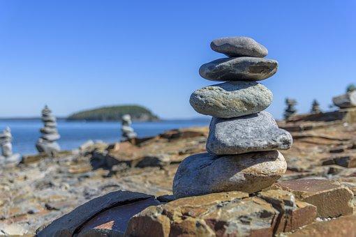 Rocks, Balance, Zen, Stack, Harmony, Stone, Relaxation